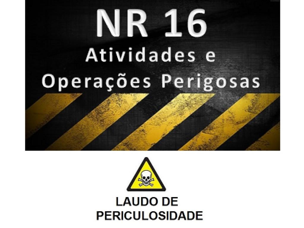 NR 16 - Laudo de Periculosidade