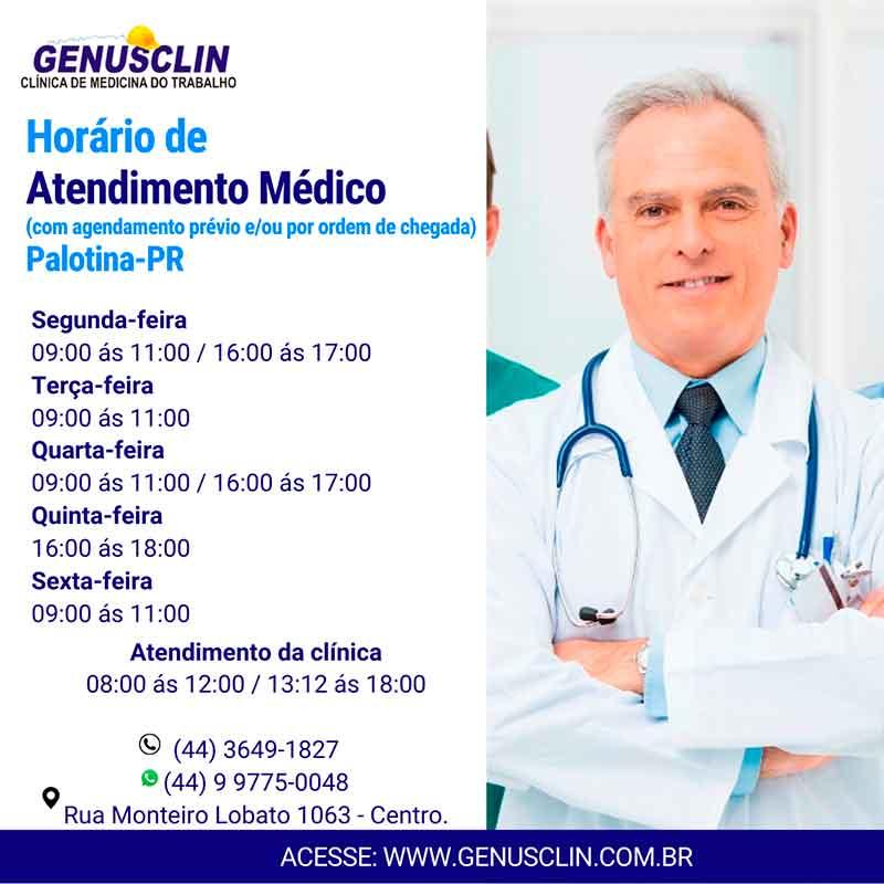 Horário Médico
